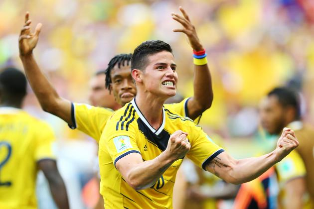 World Cup 2014: 6 Key Battles That Will Shape Colombia's Clash with Uruguay
