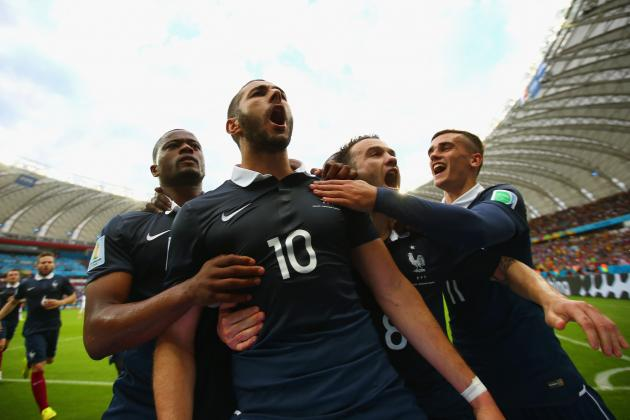 Ranking the France Players on Their World Cup Group-Stage Form