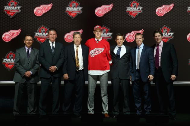 Re-Grading Detroit Red Wings' Last 5 1st-Round Picks
