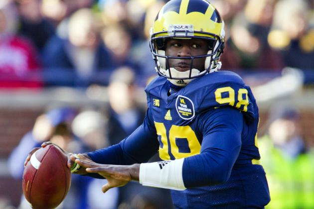 Michigan Football: 5 Things Devin Gardner Needs to Do to Win the Big Ten