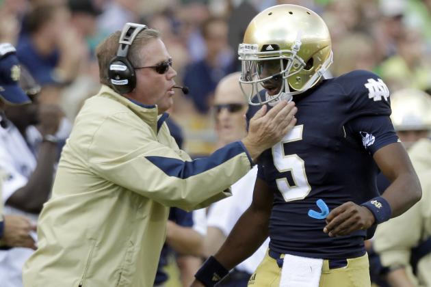 Notre Dame Football: 3 Things That Will Change with Everett Golson at QB