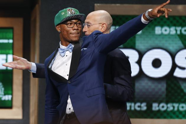Initial Post-Draft Depth Chart for Boston Celtics