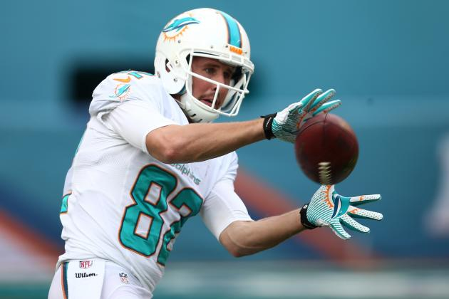 Ranking Brian Hartline's 5 Most Memorable Moments with the Miami Dolphins