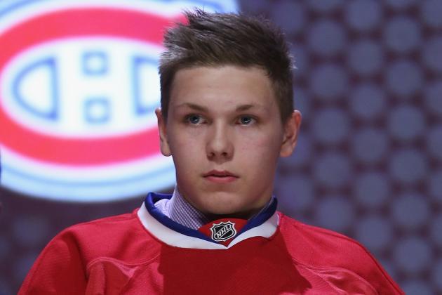 NHL ETAs for Montreal Canadiens' 2014 Draft Picks