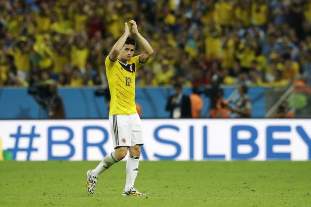 World Cup 2014: Best XI of Day 17 with James Rodriguez, Alexis Sanchez, More
