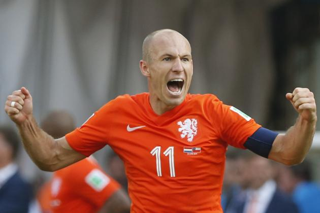B/R Experts' World Cup Predictions: Arjen Robben Ready to Rock