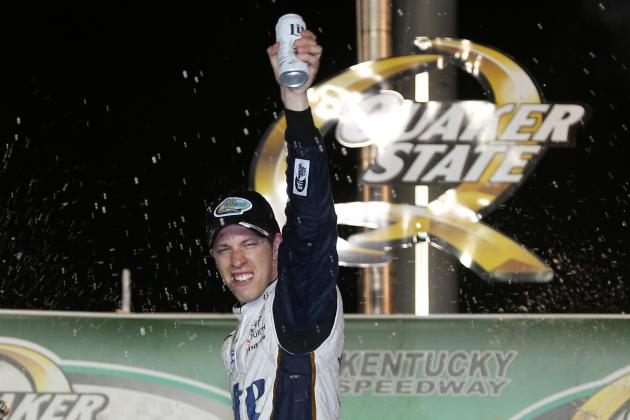 NASCAR at Kentucky 2014: Winners and Losers from the Quaker State 400