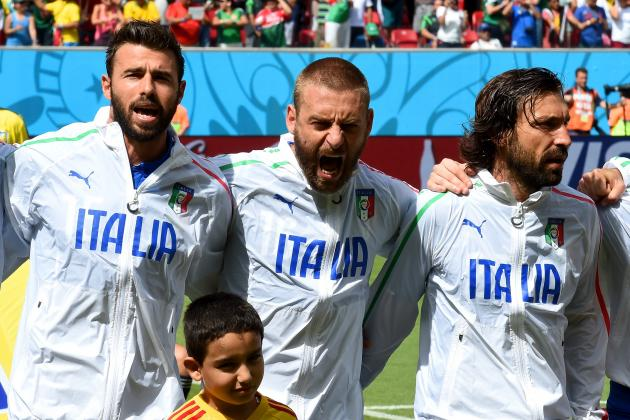 8 Biggest Mistakes Italy Made at 2014 World Cup