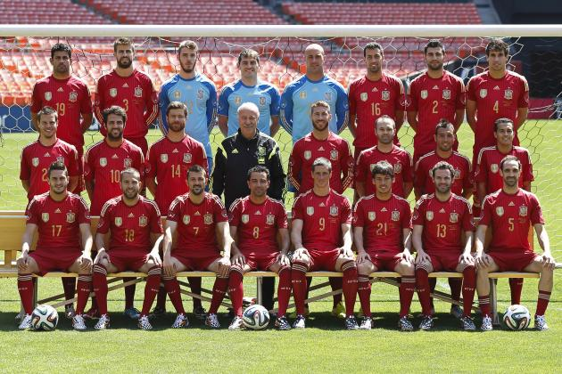 Picking the Spain Squad for the 2018 World Cup