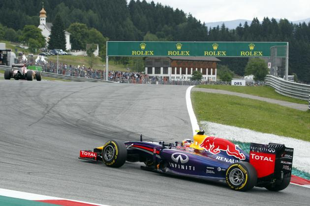 Formula One's Driver Power Rankings After 2014 Austrian Grand Prix