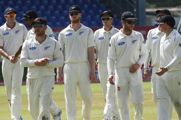 West Indies vs. New Zealand: Ranking All 28 Players from the 2014 Test Series
