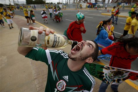 Sports Fans Who Totally Weren't Drunk