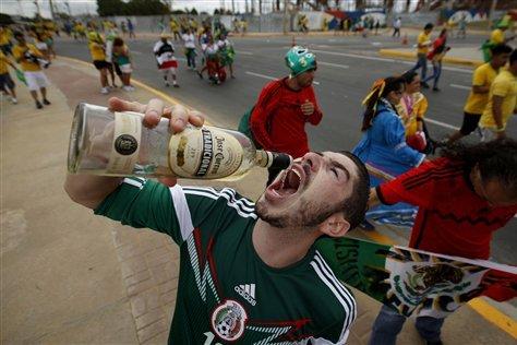 Sports Fans Who Totally Weren't Drunk