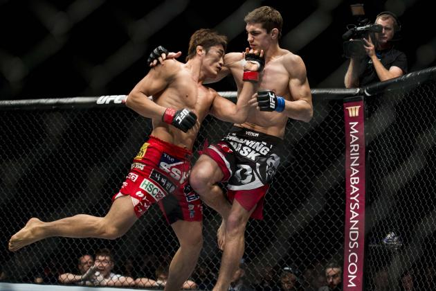 10 Best MMA Knockouts from the 1st Half of 2014