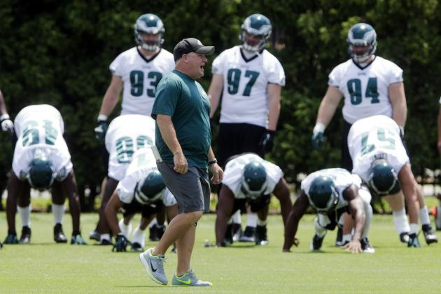 5 Players Who May Find Themselves on Philadelphia Eagles' Practice Squad in 20