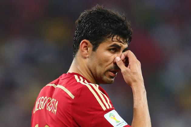10 Biggest Mistakes Spain Made at 2014 World Cup