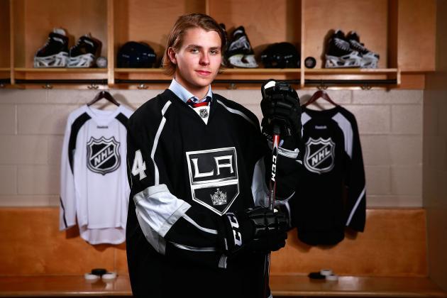 NHL ETAs for Los Angeles Kings' 2014 Draft Picks