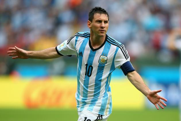 World Cup 2014: Best XI of Day 20 with Messi, Rodriguez and Lukaku