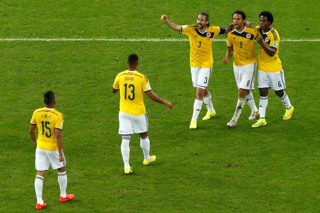 Picking a Combined Brazil vs. Colombia 2014 World Cup XI