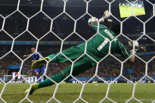 10 Defining Moments from the 2014 World Cup Round of 16
