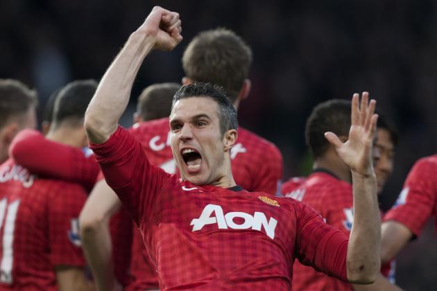 5 Memorable Robin Van Persie Moments at Manchester United