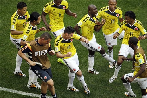 5 Reasons Why Colombia Have Shone at the 2014 FIFA World Cup