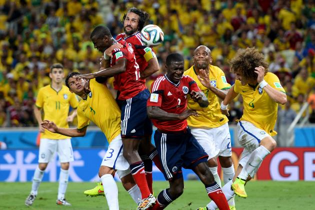 World Cup 2014: Ranking the Matches from the Quarter-Final Stage on Excitement