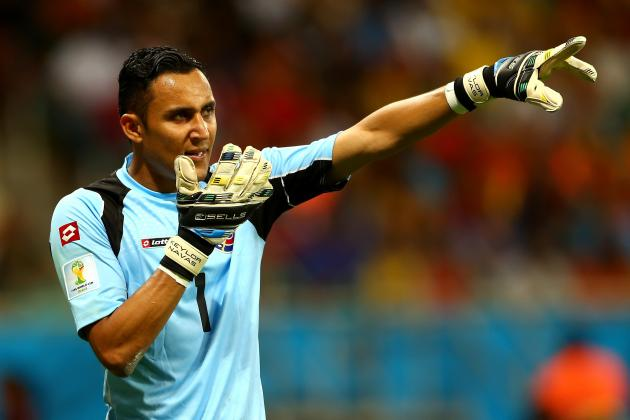 World Cup 2014: Ranking the Top 5 Saves from Quarter-Final Games