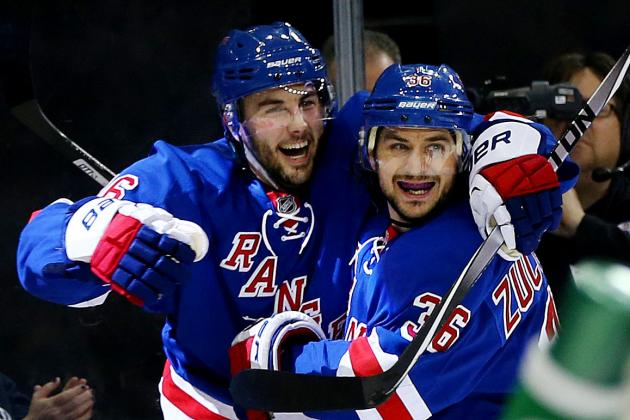 How Much Will It Cost New York Rangers to Re-Sign Remaining Free Agents?