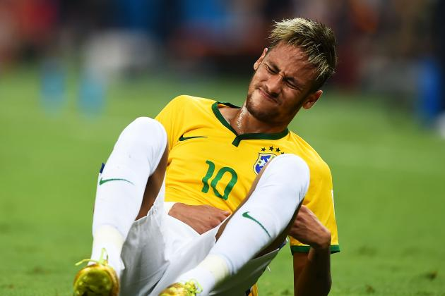 Neymar Not the Only Brazil Star to Suffer World Cup Injury Heartache