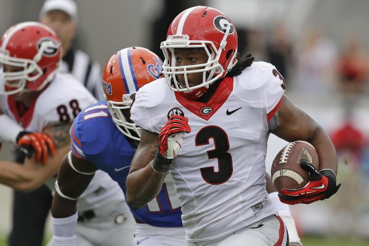 College Football's Top 10 RBs and Their NFL Counterparts