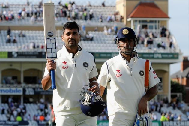 England vs. India: Player Ratings for MS Dhoni's XI After 1st Test