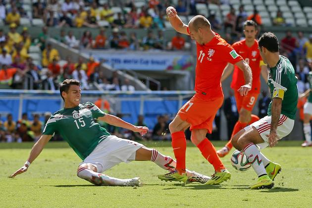 5 Mexico Players Whose Stock Fell at 2014 World Cup