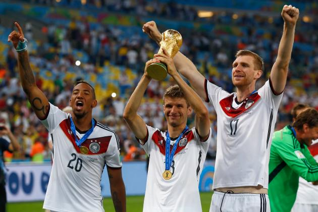 2014 World Cup: Final Team Rankings