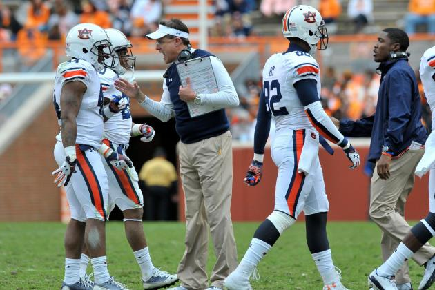 Auburn Football: 5 Stats Tigers Must Improve in 2014
