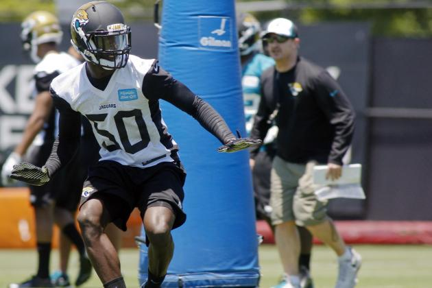 Ranking Jacksonville Jaguars' Top 5 Sleepers to Watch in Camp