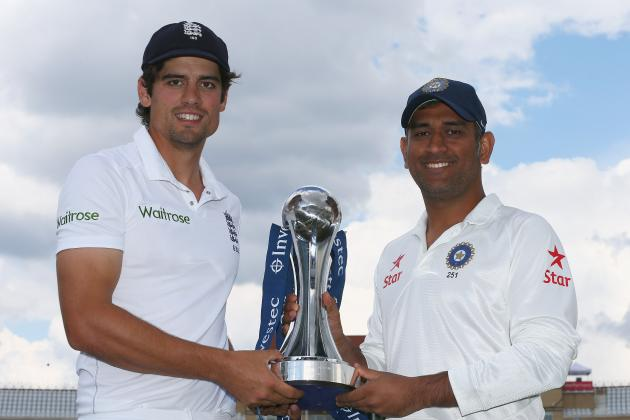 England vs. India, 1st Test 2014: Scorecard, Highlights from Trent Bridge