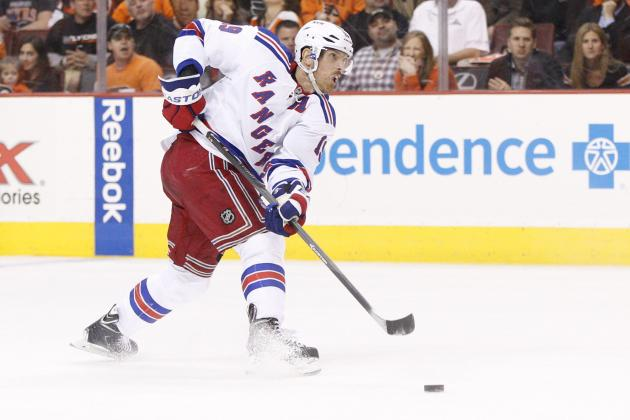 Best- and Worst-Case Scenarios for Brad Richards with the Chicago Blackhawks