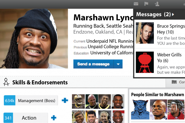If Athletes Had LinkedIn Profiles