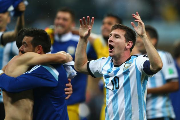 World Cup 2014: Winners and Losers from Netherlands vs. Argentina Semi-Final