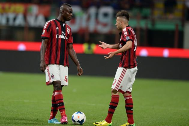 5 Forwards for AC Milan to Pair with El Shaarawy Instead of Mario Balotelli