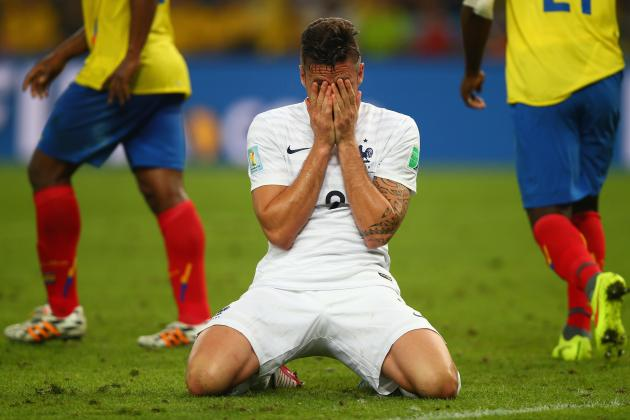 5 France Players Whose Stock Fell at 2014 World Cup