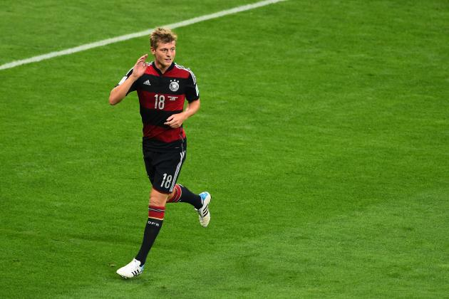 World Cup 2014: Best XI of Semi-Finals with Thomas Mueller, Kroos, Mascherano