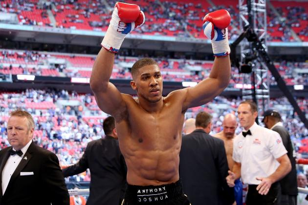 Anthony Joshua and the Top Prospects in Heavyweight Boxing