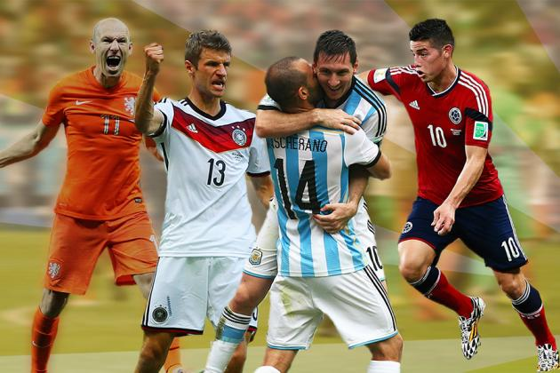 2014 FIFA World Cup: Power Ranking Top 100 Players