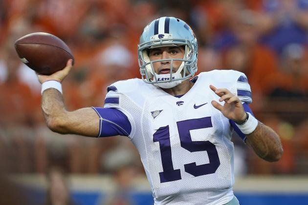 2014 Stat Predictions for Every Big 12 Football Starting QB