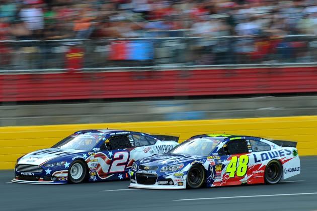 2014 NASCAR Sprint Cup Driver Rankings: Week 20 Edition