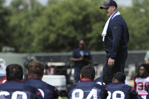 Breaking Down Houston Texans' 5 Biggest Training Camp Projects