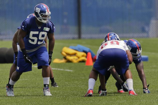Breaking Down New York Giants' 5 Biggest Training Camp Projects