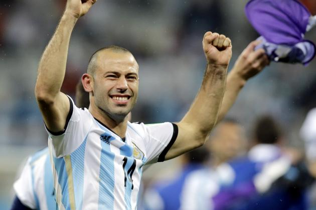 Grading Every Argentina Player at the 2014 World Cup
